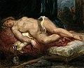 Eugène Delacroix (1798-1863) - Odalisque Reclining on a Divan - PD.3-1957 - Fitzwilliam Museum.jpg