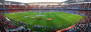 L'interno dello stadio