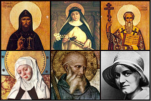 Christianity in Europe - Patron saints of Europe.