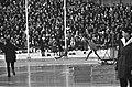 Europese Schaatskampioenschappen te Oslo, Bols rust uit na de 10.000 meter, Bestanddeelnr 921-0263.jpg