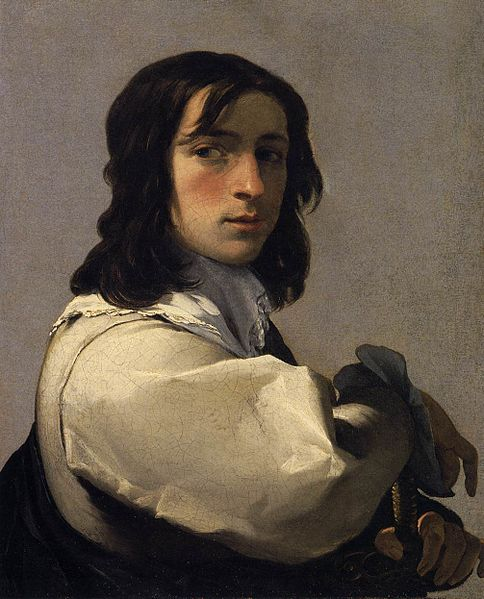 File:Eustache Le Sueur - Portrait of a Young Man - WGA12617.jpg