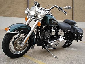 English: Picture of my HD Softail. I (Eric V. ...