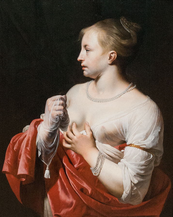 Female Figure, possibly Lucretia