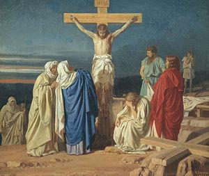 Evgraf Semenovich Sorokin - Image: Evgraf Semenovich Sorokin Crucifixion