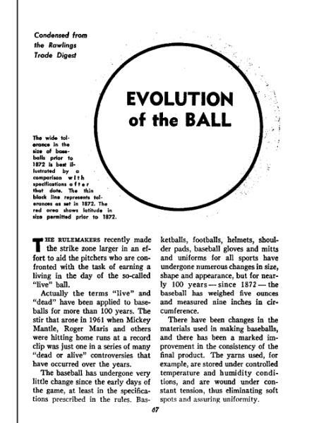 File:Evolution of the Ball, Baseball Digest July 1963.djvu