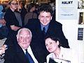 Ewa i Andrzej Peciak Edward Hartwig Warszawa 1999.jpg