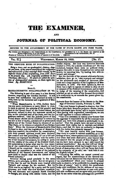 File:Examiner, Journal of Political Economy, v2n17.djvu