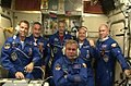 Expedition 40 crew greeting.jpg
