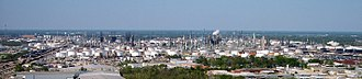 ExxonMobil - ExxonMobil refinery in Baton Rouge