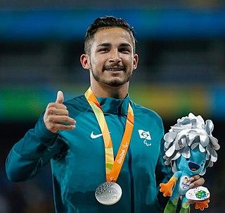 Fábio da Silva Bordignon Brazilian Paralympic athlete