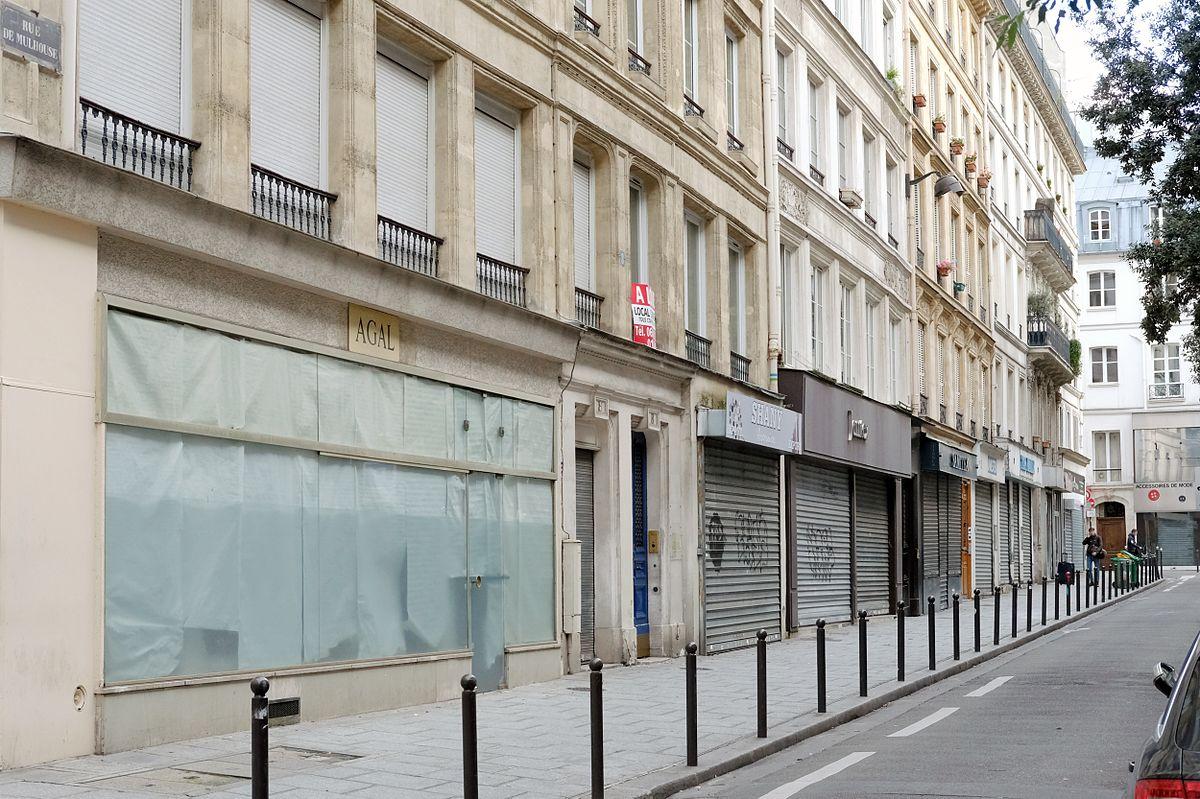 rue de mulhouse  paris   u2014 wikip u00e9dia