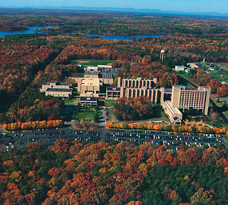 The FBI Academy, located in Quantico, Virginia FBI Academy.jpg