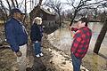 FEMA - 40751 - Community Relations team speaks with resident on banks of Red River.jpg