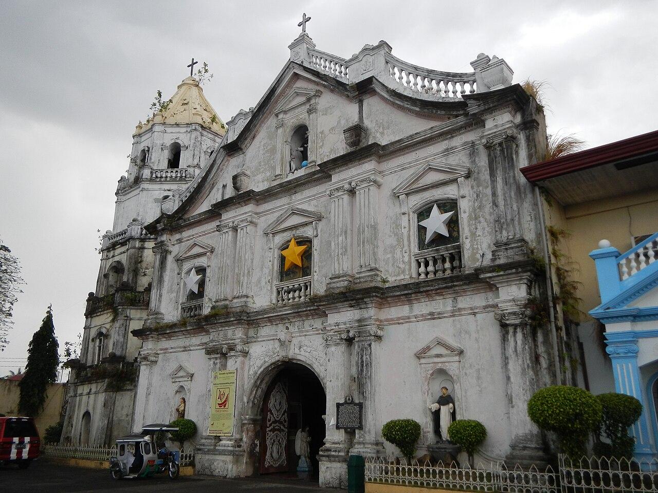 File Facade Of The St Dominic De Guzman Church In Abucay