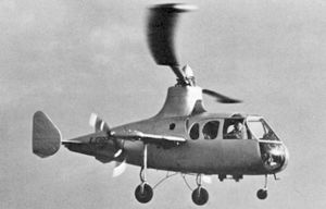 VTOL - Fairey Jet Gyrodyne
