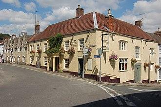 Wotton-under-Edge - Image: Falcon Inn, Wootton under Edge geograph.org.uk 749371