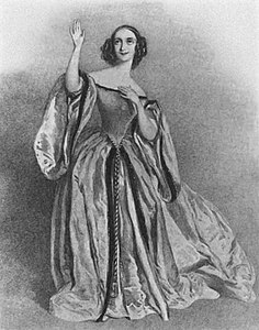 Fanny Tacchinardi-Persiani first performed in London on April 5, 1838