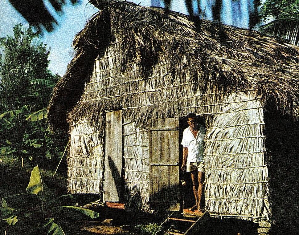Farmer house Seychelles