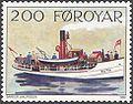 Faroe stamp 221 old postal vessels - ruth.jpg