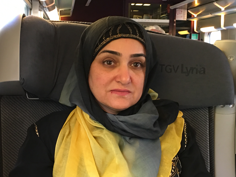 Desse Fatema Aziz le 28 octobre 2016 en France