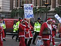 Fathers for Justice Father Christmas march.jpg