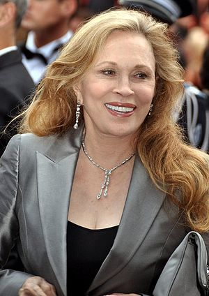 English: Faye Dunaway at the Cannes film festival