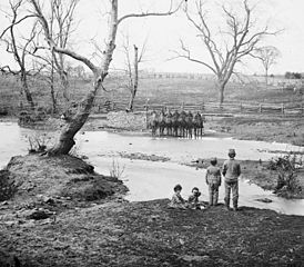 Union forces at Sudley Springs Ford