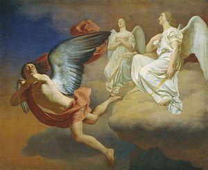 Abaddon and angels by F.Zavialov