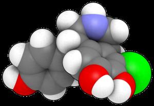 Fenoldopam - Image: Fenoldopam 3d balls