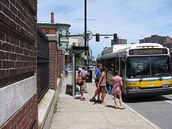 Fenwood Road MBTA station, Boston MA.jpg