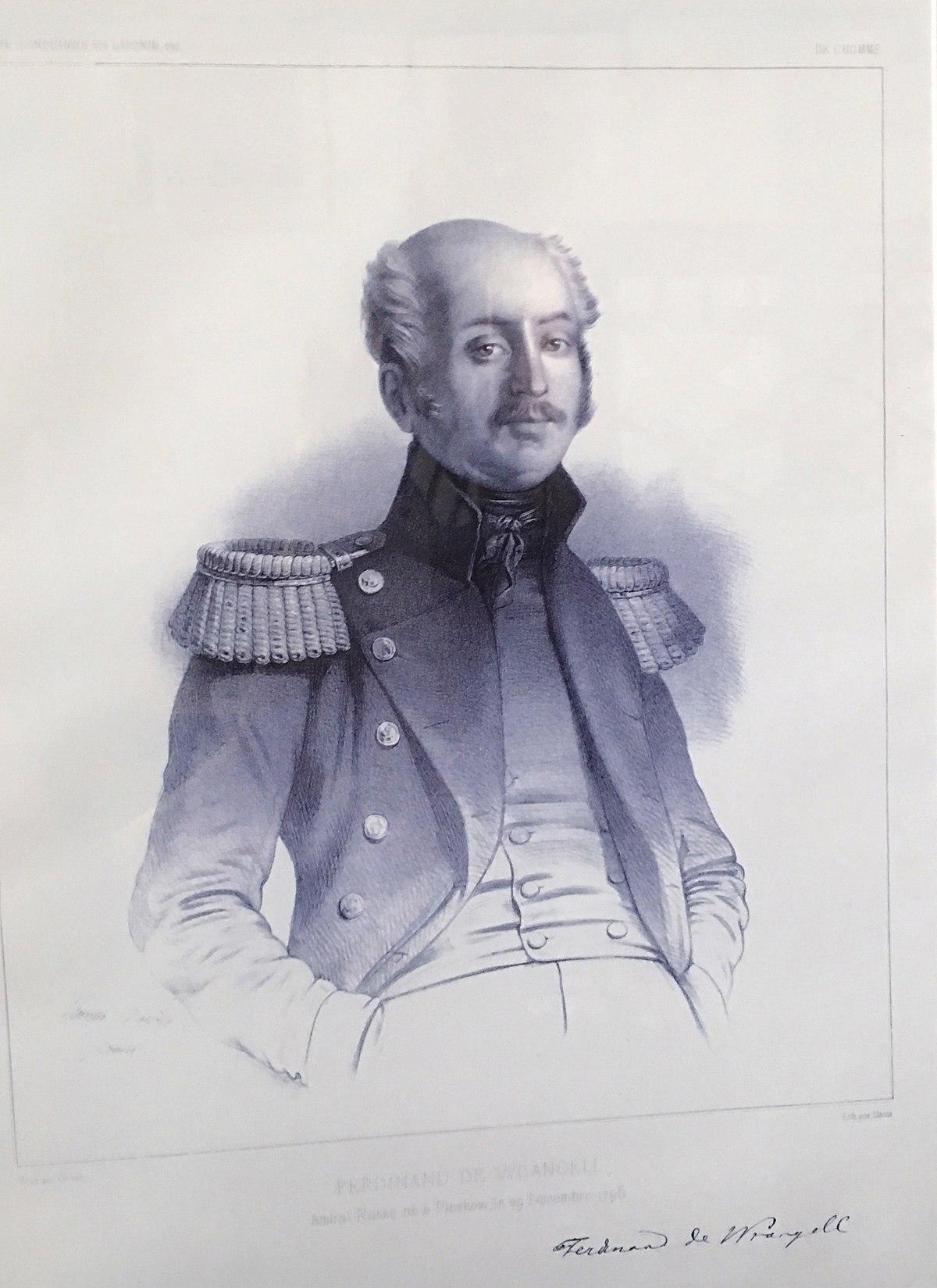 Best Military Branch >> Ferdinand von Wrangel - Wikipedia