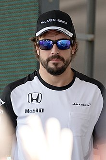 Alonso in 2015 by McLaren