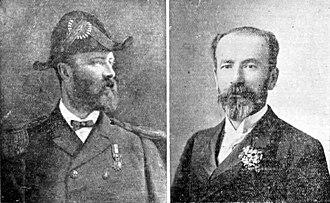 Transandine Railway - The Clark Brothers, whose company built the line