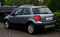 Fiat Sedici 1.6 16V Easy (2. Facelift) – Heckansicht, 17. Mai 2013, Münster.jpg