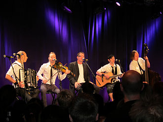 Fiddler's Green (band) - Fiddler's Green in 2010