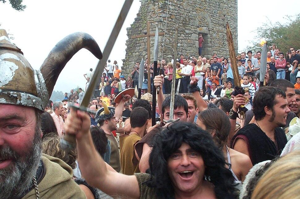Fiesta Vikinga en Catoria, Galicia