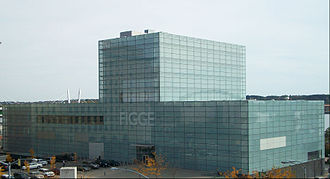 Quad Cities - The Figge Art Museum in Downtown Davenport, Iowa