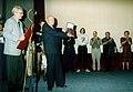 Filmski susreti u Nisu 1997 - Mica Tomic - nagrada Pavle Vujisic 02.jpg
