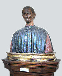 Bust of Machiavelli in the Palazzo Vecchio