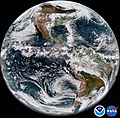 First Full Disk ABI Image from GOES-17 (28600286188).jpg