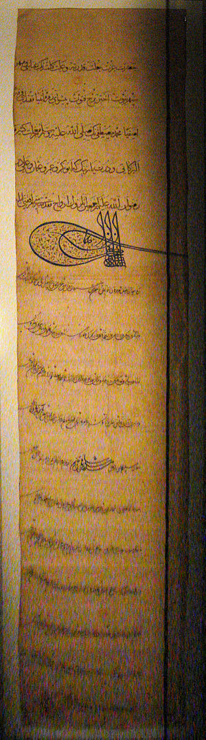 Jean Frangipani - First letter from Suleiman to Francis I in February 1526, brought back by Jean Frangipani.