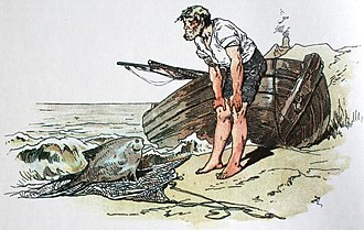 "The Fisherman and His Wife - ""The Fisherman and His Wife"" illustration by Alexander Zick."