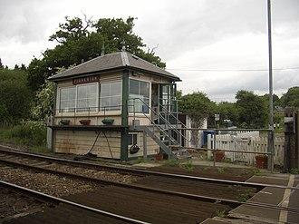 Fiskerton railway station - Image: Fiskerton Railway Station 3