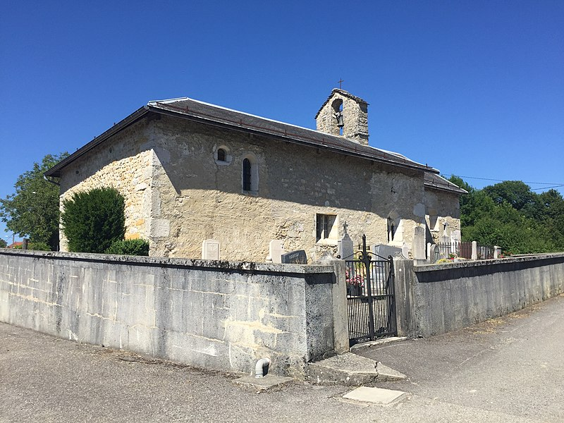 Fitignieu, commune de Sutrieu, Ain.