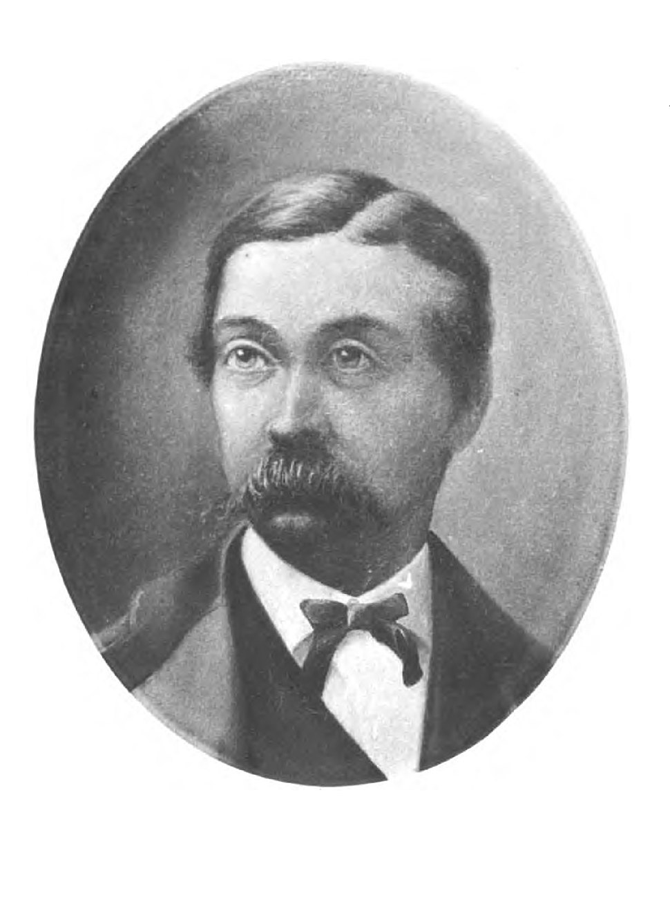 Sketch of Fitz-James O'Brien by William Winter 1881