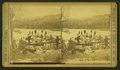 Five canoes starting from Ilsand portage, by Ingersoll, T. W. (Truman Ward), 1862-1922.png