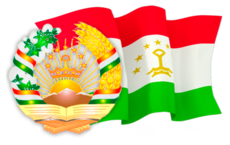 Flag and emblem of Tajikistan.png