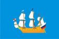 Flag of Dedinovskoe (Moscow oblast).png