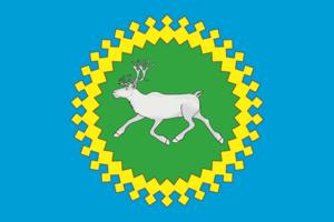 Izhemsky District - Image: Flag of Izhemsky rayon (Komia)