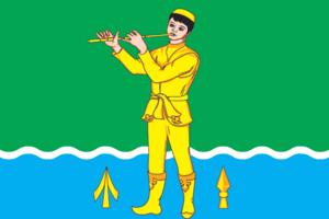 Muslyumovsky District - Image: Flag of Muslyumovsky rayon (Tatarstan)